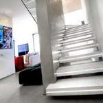 лестница с led-подсветкой