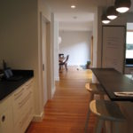 оформление и дизайн для кухни-коридора