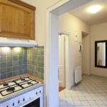 оформление и дизайн в коридоре-кухне