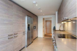 освещение пространства кухни
