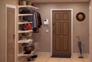 открытая система хранения в коридоре