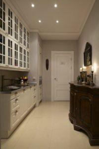прямоугольная планировка кухни
