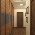 шкаф на всю длину стены