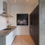 совмещение кухня-коридор