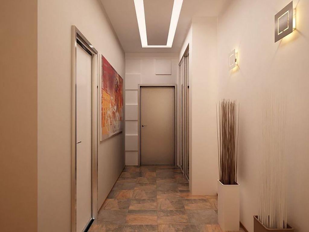 Фото из чего сделать стены в коридоре