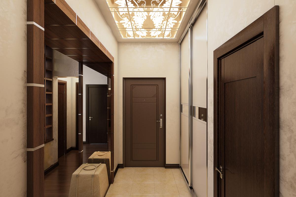 уютный коридор