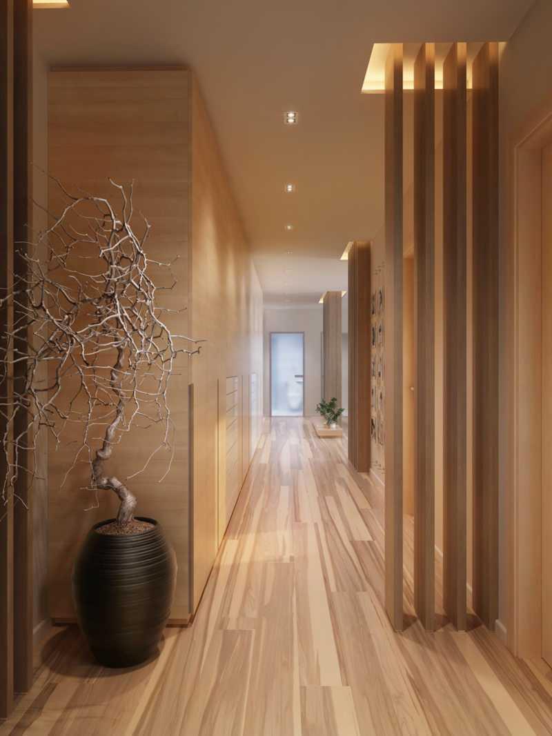 ваза в коридоре