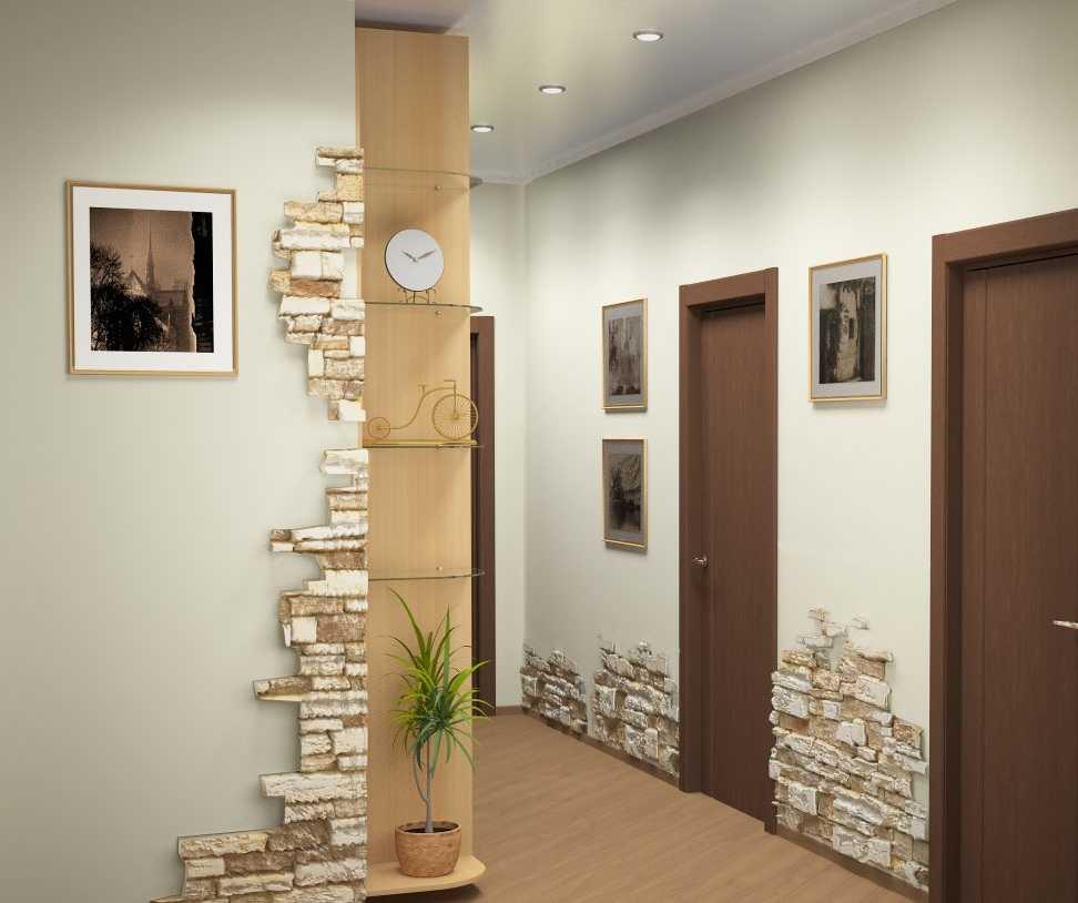 декоративный камень в оформлении