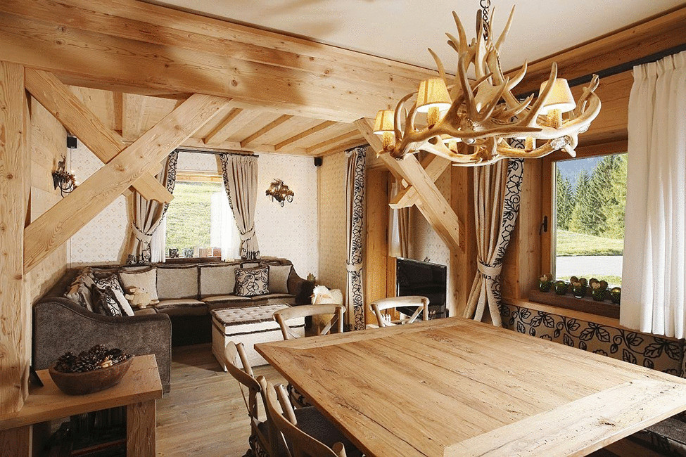 Фото дома из дерева