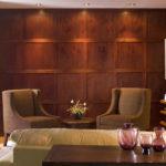 деревянные панели в интерьере