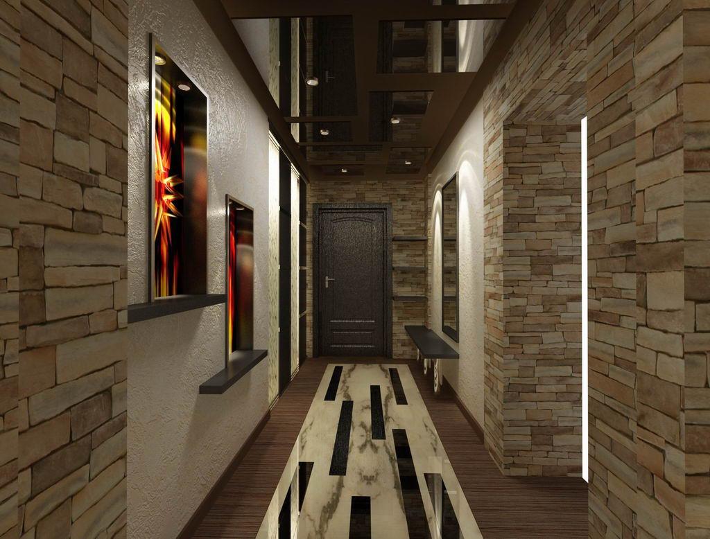 дизайн и интерьер коридора