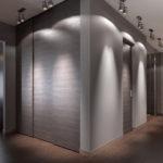 коридор в серых тонах