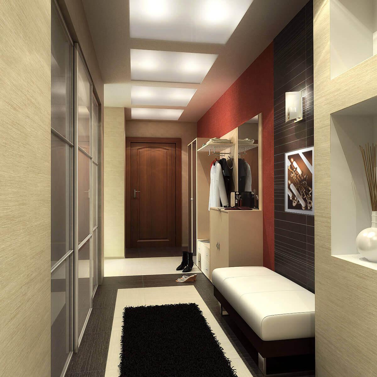 мебель в длинный коридор