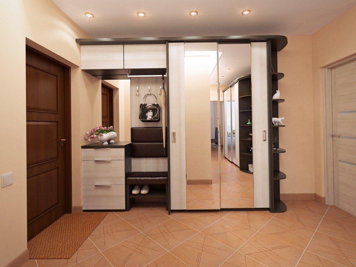 стандартная мебель в коридоре