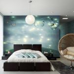 отделка стен с подсветкой