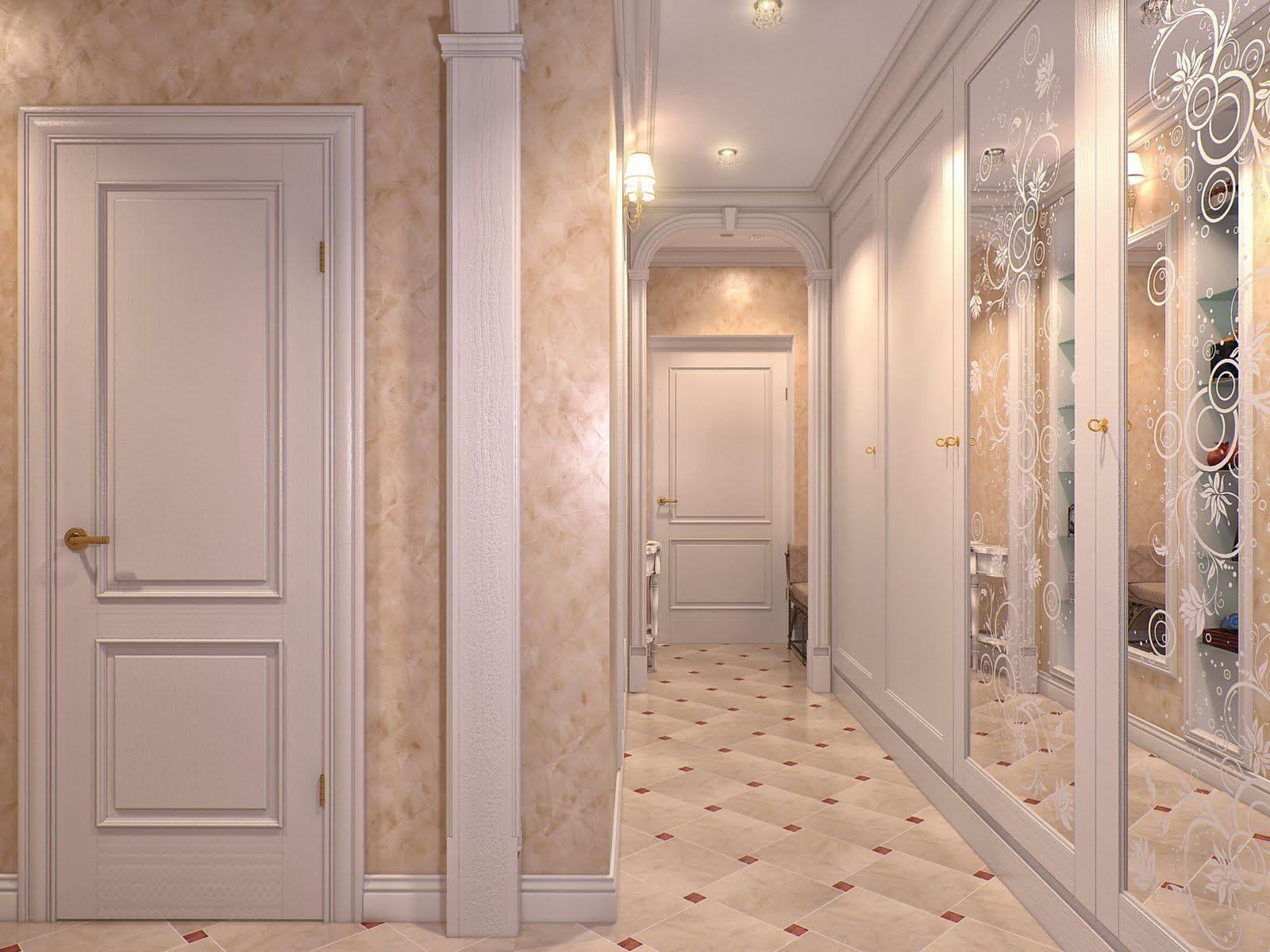 плинтус в коридоре