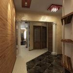 мраморный пол в коридоре