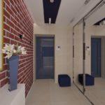 стильный дизайн в коридоре