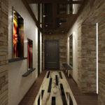 стильный интерьер коридора