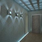 светодиодные лампы в коридоре