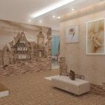 Фотообои с изображением старого английского дома.
