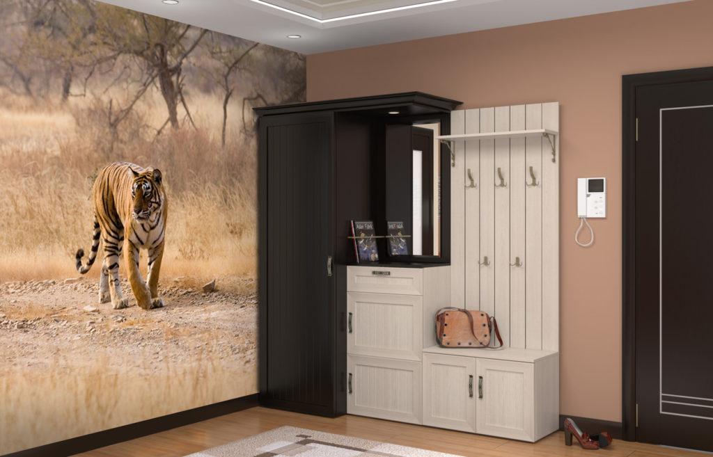 Фотообои с рисунком тигра.