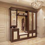Комплекс классической мебели с каретной стяжкой.