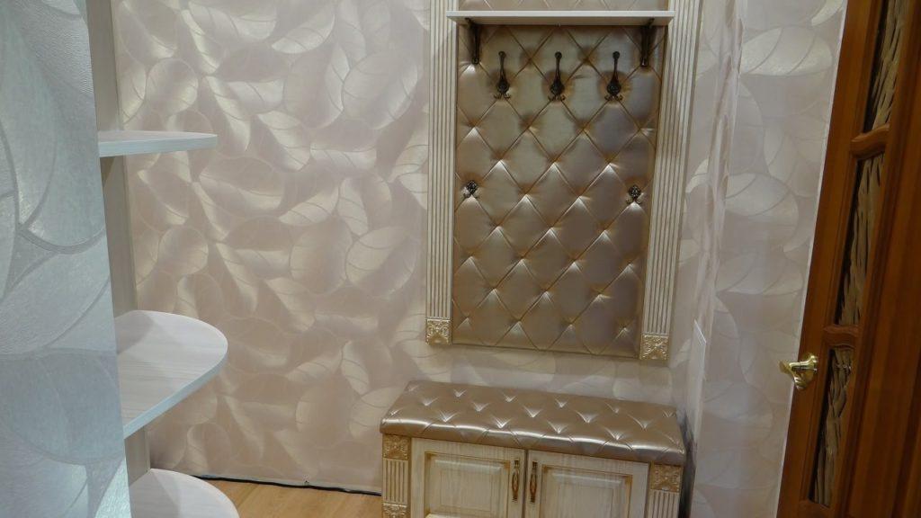 Мебель с шелковой каретной стяжкой.