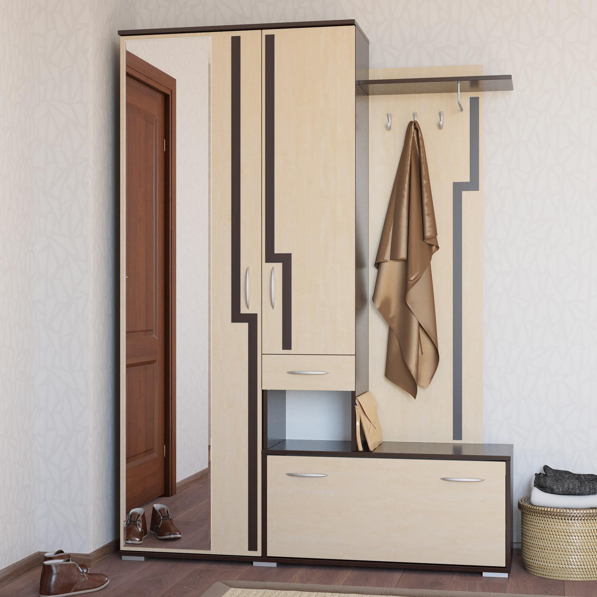 Прихожие мебель для узкого коридора фото