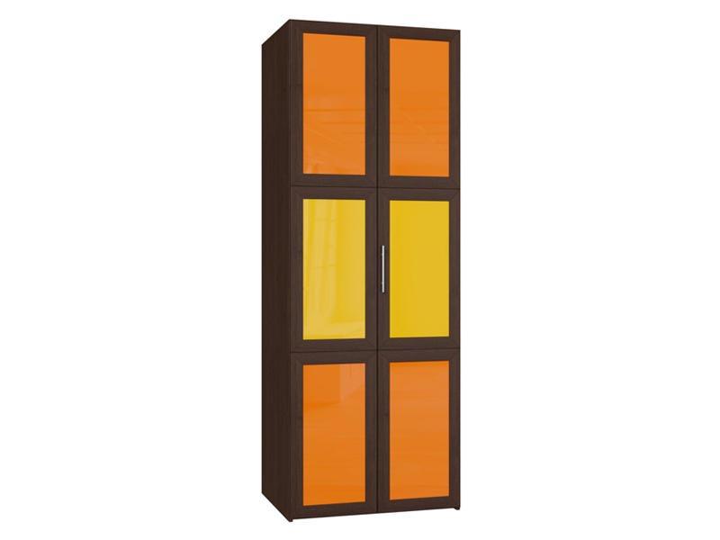Дверные створки из пластика в шкафе гармошке