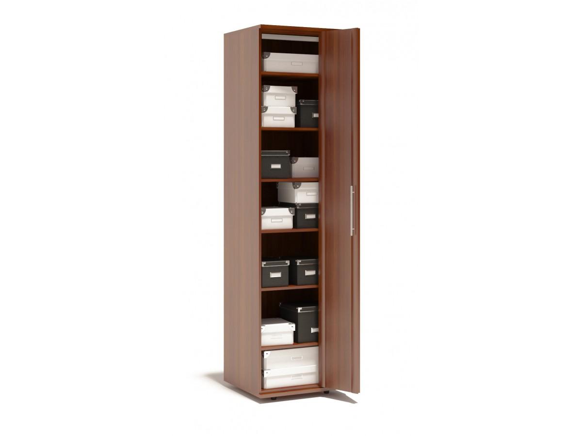Шкаф-гармошка с коробками внутри