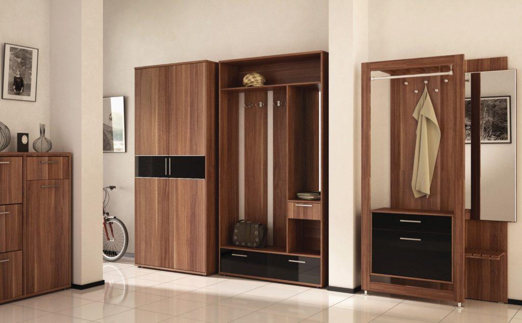 Шкаф-вешалка в современности стиле.