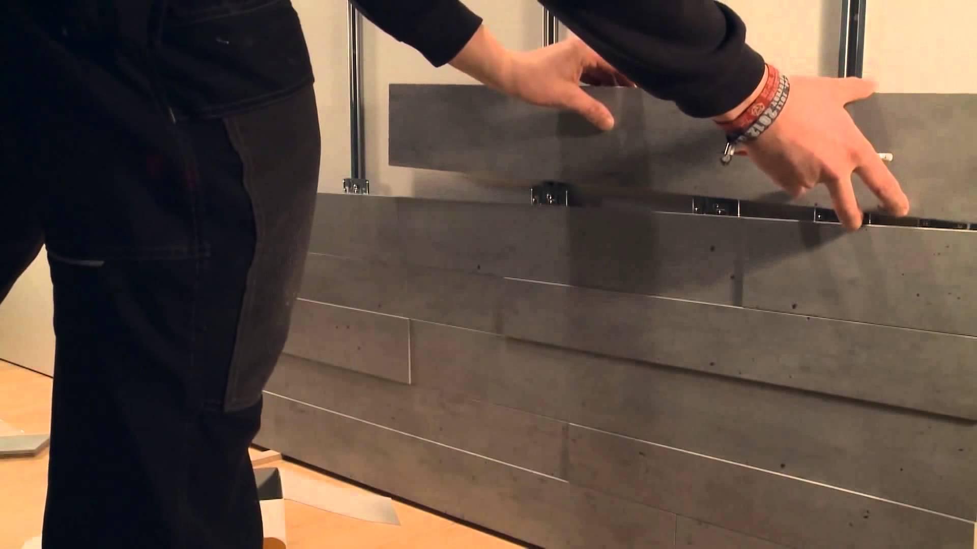 кладка стеновой панели