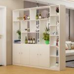 белый двусторонний шкаф