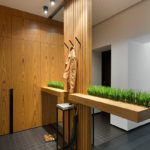 деревянный реечные панели