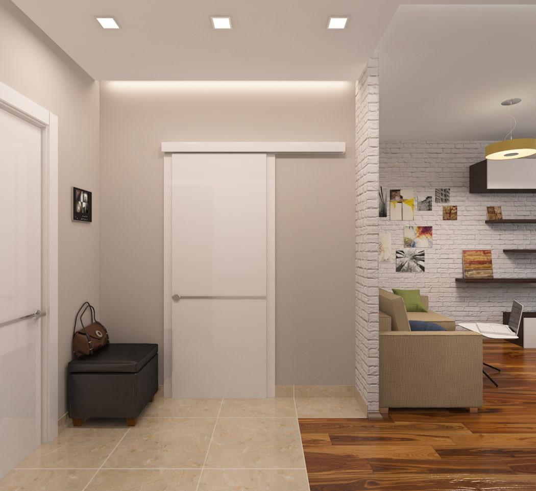 интересный интерьер квартиры