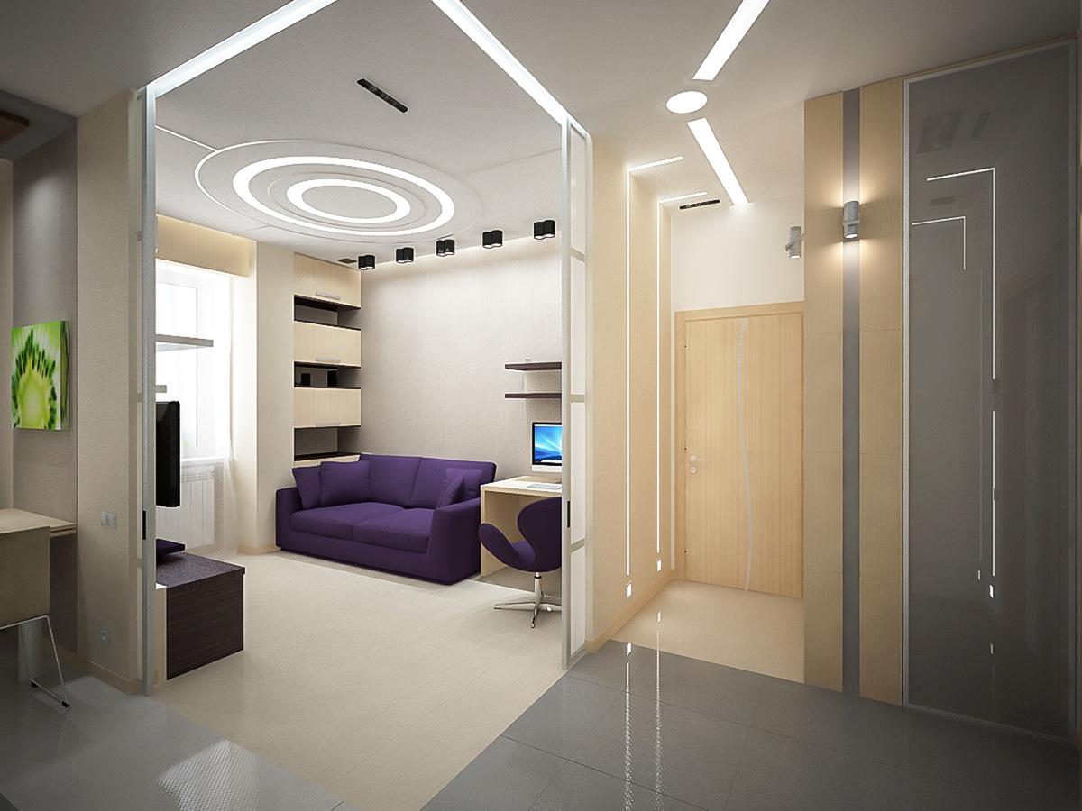 разделение пространства в помещении