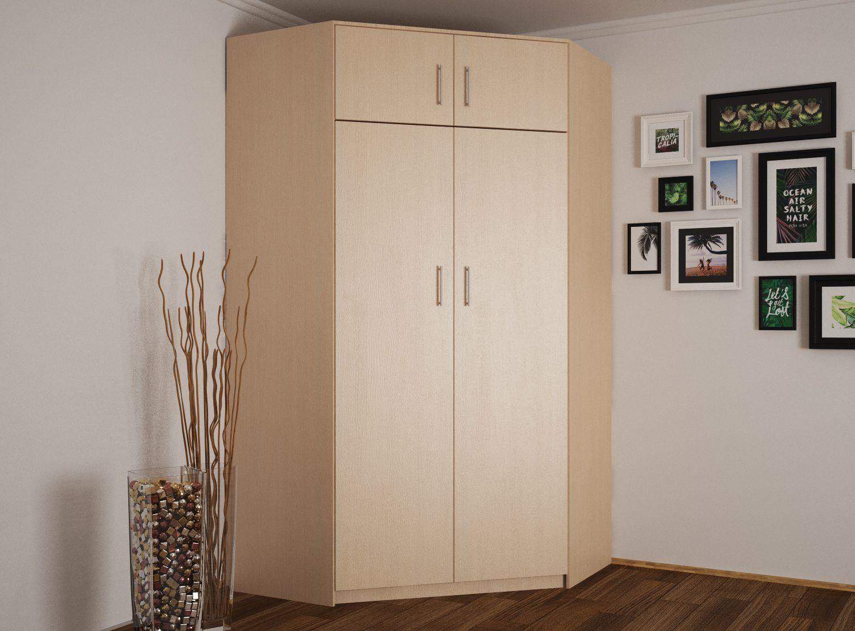 угловые шкафы в коридоре