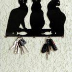 ключница три черных кота
