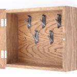 деревянная ключница настенная