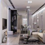 белый цвет в оформлении квартиры