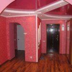 малиновый потолок