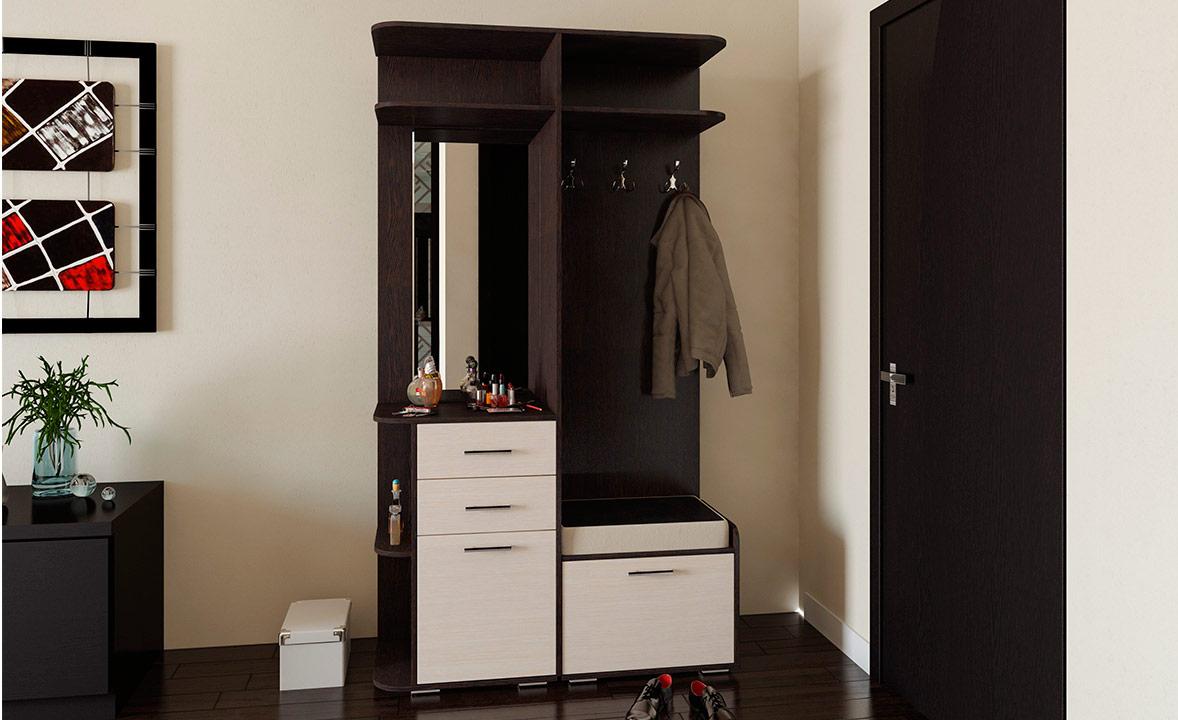 Мебель в небольшой прихожей