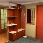 небольшой шкаф для разделения пространства