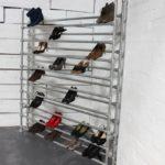 железная полка для обуви
