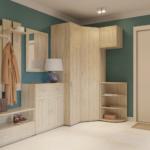 комната с мебелью из сосны