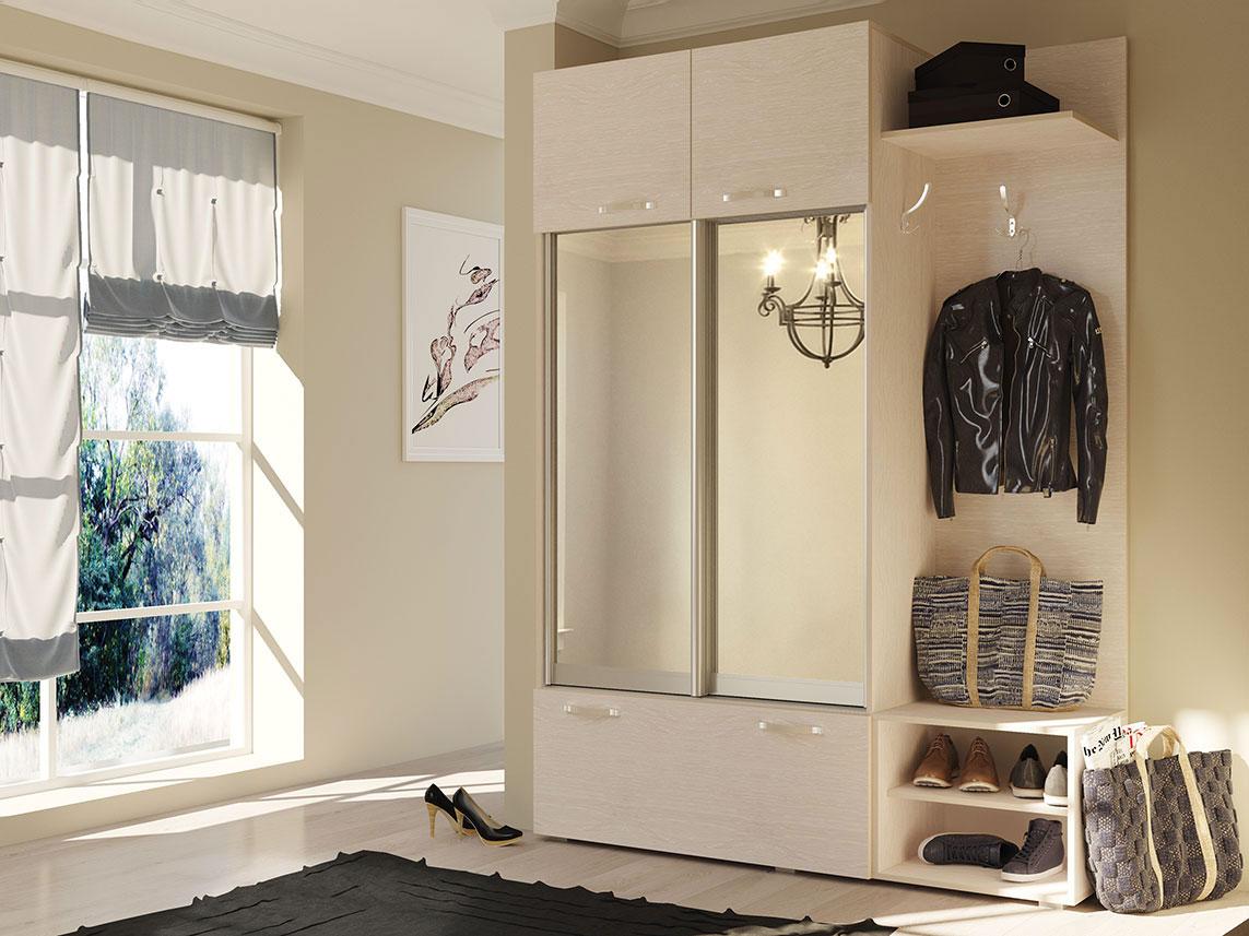 раздвижные двери в шкафу-купе