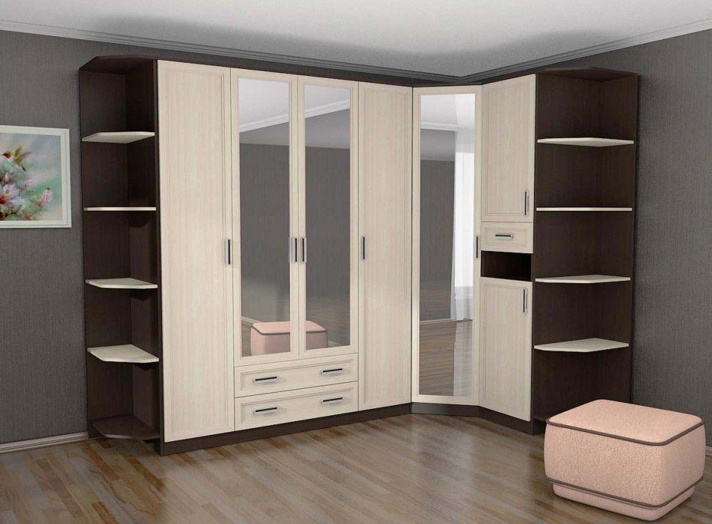 шкаф угловой в прихожей комнате
