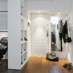 шкаф-перегородка в скандинавском стиле