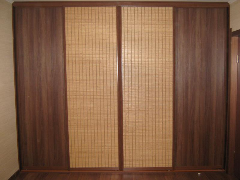Шкаф из бамбука